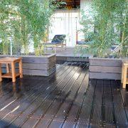 Holzterrassen mit Moso xtreme im Vabali Spa Düsseldorf | Parkett-Werkstatt Heisters