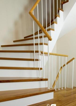 Parkettverlegung Treppen