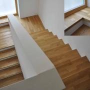 Treppe 180 Grad – einfache Heimidee